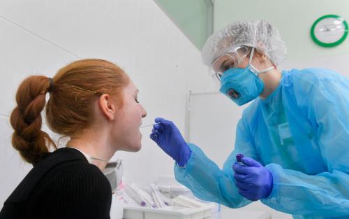 сдать анализ на коронавирус спб